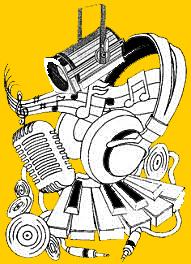 Logo son lumière jaune