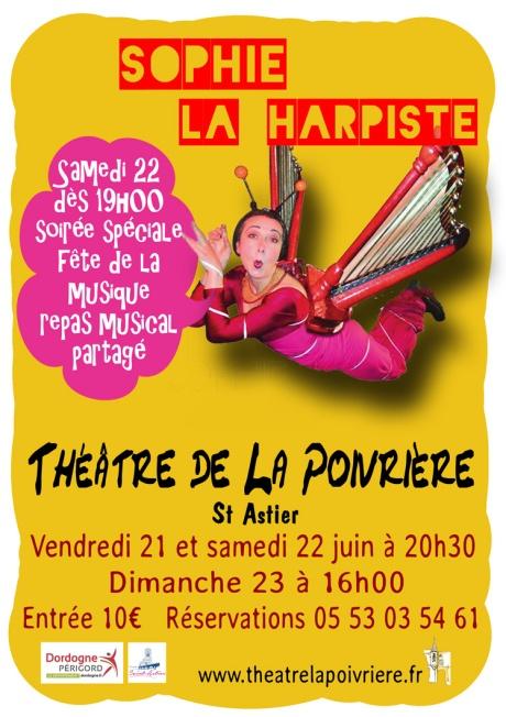 Affiche Sophie Poivrière spéciale FM web