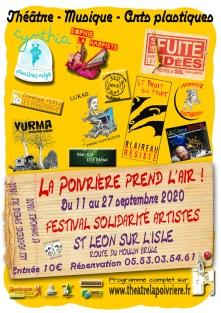 Affiche Festival La Poivrière prend l'air WEB