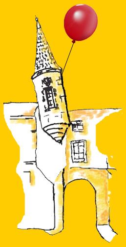 logo poivrière prend l'air jaune
