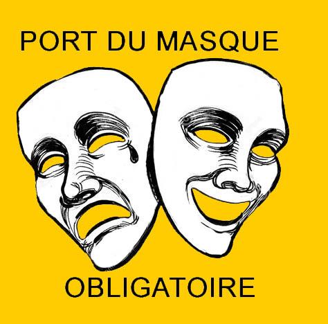 Masques jaune