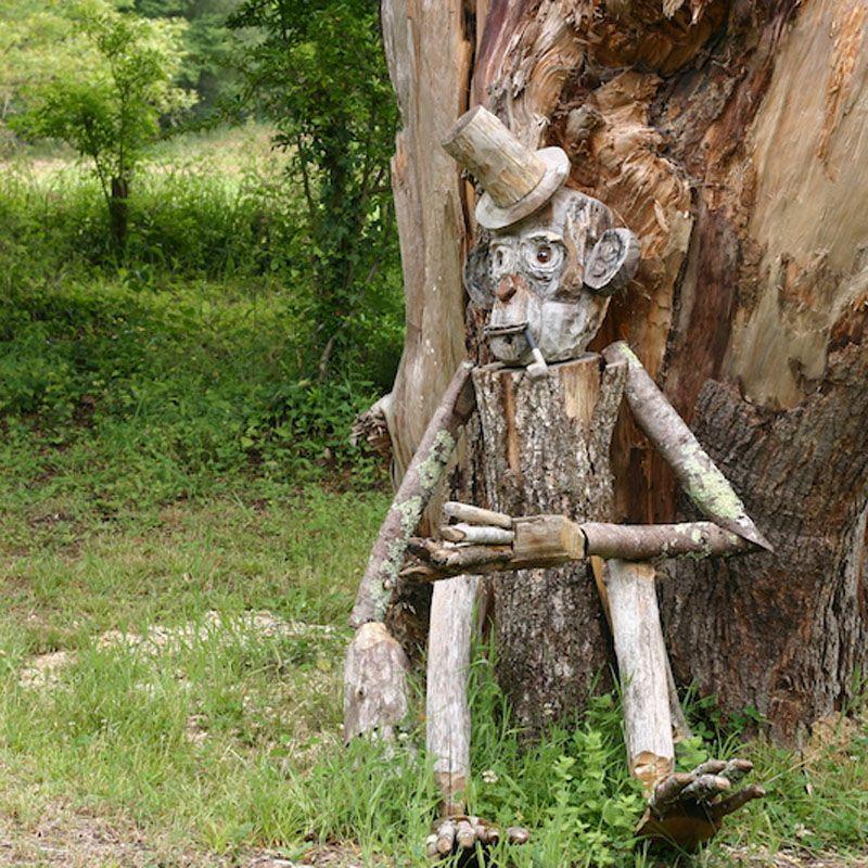 sculpture singe DP